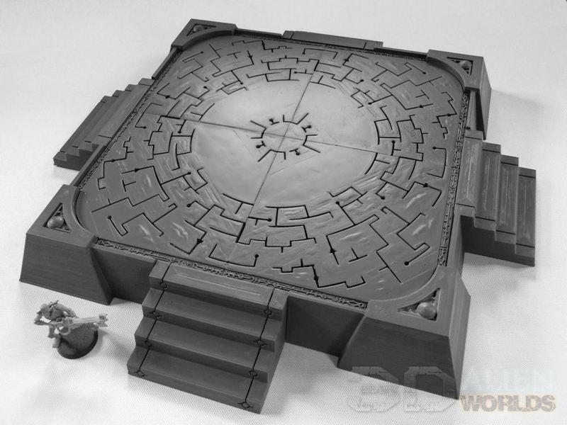 3DAlienWorlds || Necrontyr Landing Pad ( Sci-Fi Necrontyr