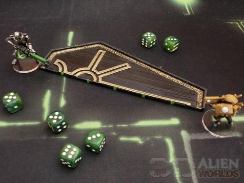 3DAlienWorlds    Necrontyr Range Ruler ( Sci-Fi Necrontyr