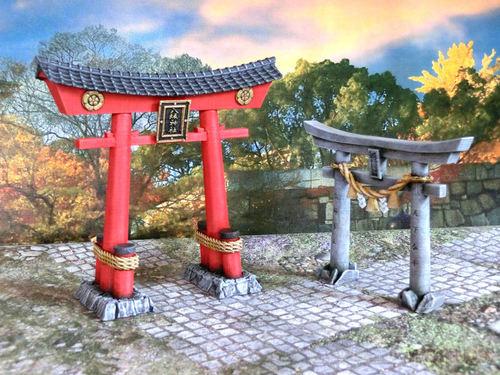 3DAlienWorlds    Samurai Torii Set ( Fantasy Samurai )    3d