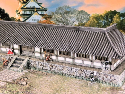 Samurai Temple Walls