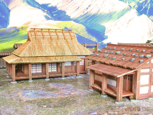 Samurai Farmhouses